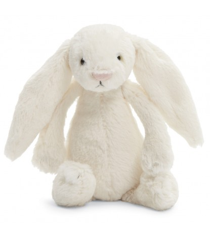 Jellycat – Bashful Cream Bunny Small