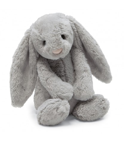 Jellycat – Bashful Grey Bunny Small