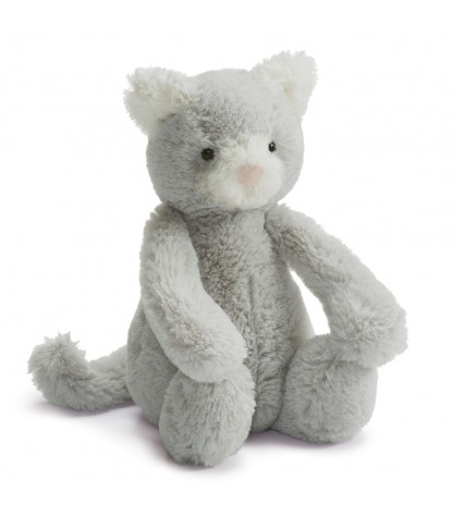 Jellycat – Bashful Grey Kitty Small