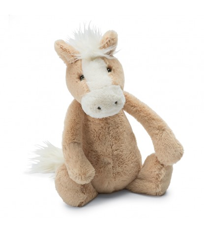 Jellycat – Bashful Palomino Pony 'New'