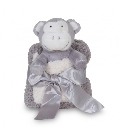 Barefoot Dreams – CozyChic Pocket Buddie Cream Monkey