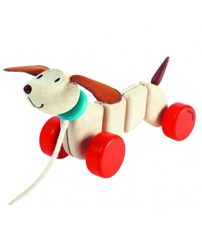 Plan Toys – Happy Puppy Pull-Along