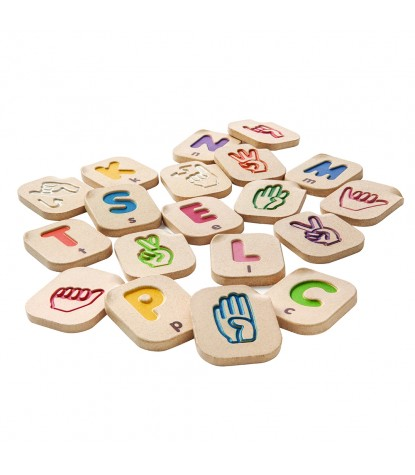 Plan Toys – Hand Sign Alphabet A-Z