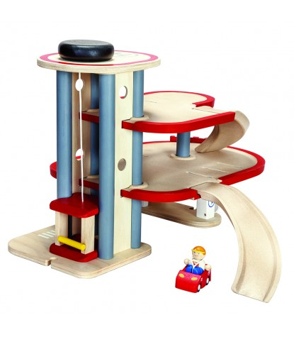 Plan Toys – Parking Garage