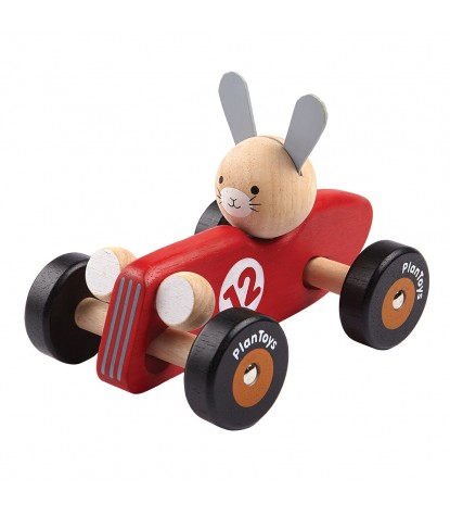 Plan Toys – Rabbit Racing Car