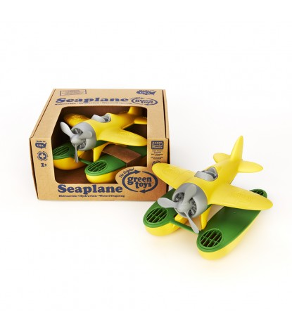Green Toys – Seaplane, Yellow