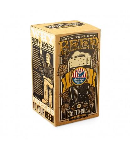 Craft a Brew American Pale Ale Beer Kit Packaging