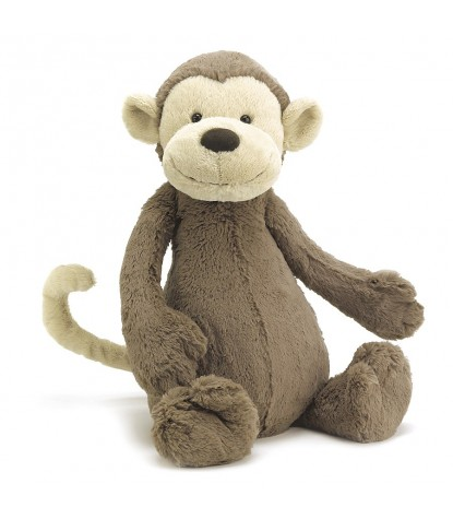 Jellycat – Really Big Bashful Monkey