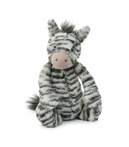 Jellycat Bashful Zebra Medium Stuffed Animal