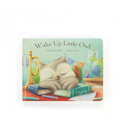 Jellycat – Wake Up Little Owl Board Book