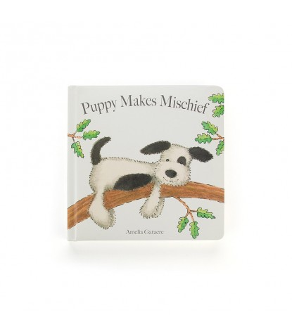 Jellycat – Puppy Makes Mischief Board Book