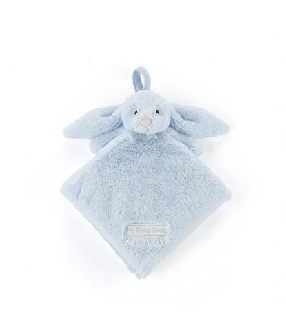 Sleepy Bunny Blue Soft Book
