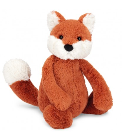 Jellycat Bashful Fox Cub Medium Stuffed Animal