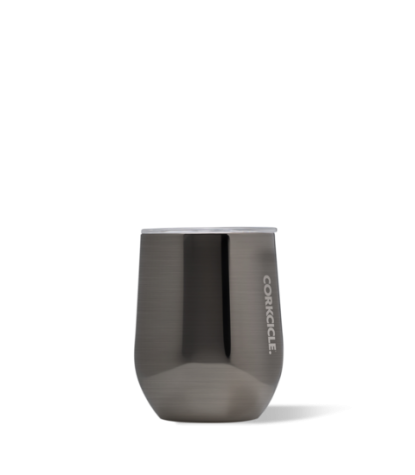 Corkcicle Stemless 12oz Tumbler in Gunmetal
