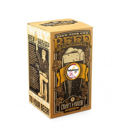 Craft a Brew Hefeweizen Beer Kit Packaging
