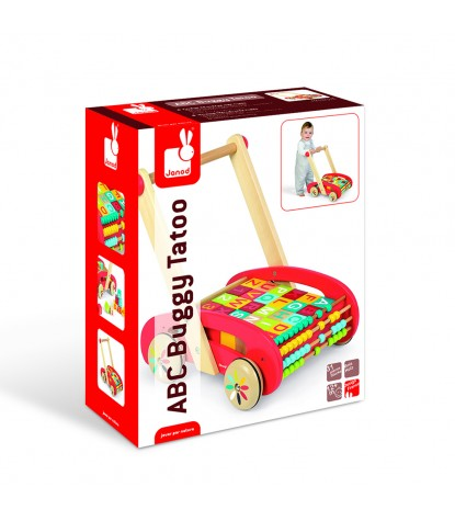Janod – ABC Baby Buggy Walker