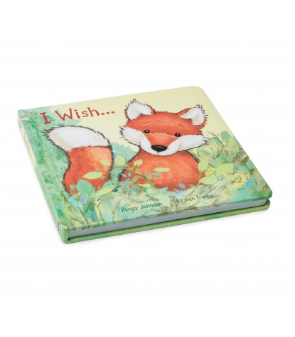 Jellycat I Wish Hard Book