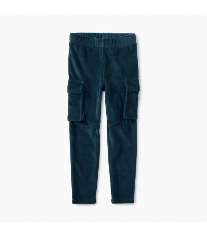 Tea Collection Velour Cargo Pants Product Image