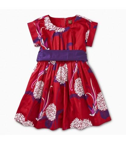 Tea Collection Patterned Sash Dress Prodcut Image