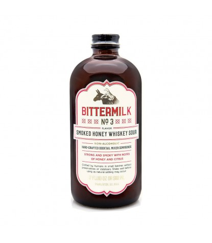 Bittermilk No. 3 Smoked Honey Whiskey Sour Cocktail Mixer