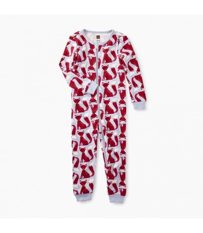 Tea Collection Friendly Foxes Printed Baby Pajamas