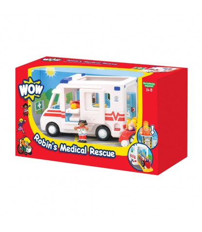 Wow Toys – Robin's Medical Rescue