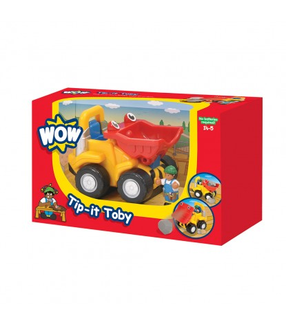 Wow Toys Tip-it Toby Packaging