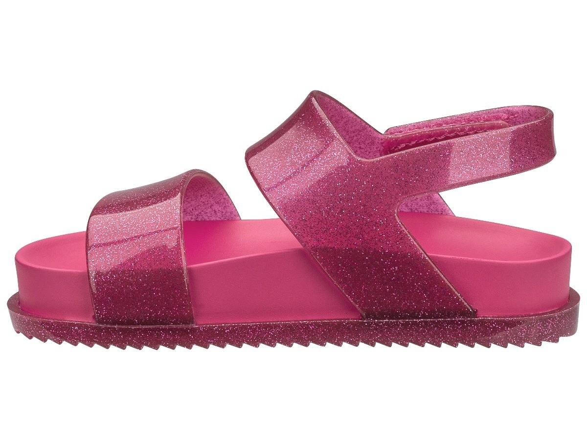 Mini Melissa Cosmic Sandal Pink Glitter