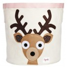 3 Sprouts Brown Deer Storage Bin