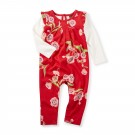 Tea Collection Rowan Flutter Romper in Red Lantern Product Image
