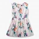 Tea Collection - Peach Flower Dress