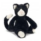 Jellycat – Bashful Black & White Cat Small