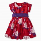 Tea Collection Patterned Sash Dress Prodcut Image