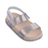 Mini Melissa - Cosmic Sandal Silver Sparkle