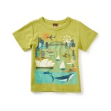 Tea Collection - Sydney Harbour Graphic Baby Tee