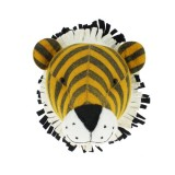 Fiona Walker - Tiger Head Mini Wall Mount