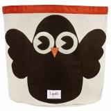 3 Sprouts – Owl Storage Bin