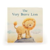 Jellycat - A Very Brave Lion Book