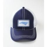 Southern Hooker - NC Logo Navy Blue Trucker Hat