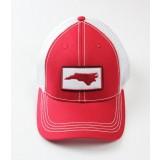 Southern Hooker - NC Logo Red Trucker Hat