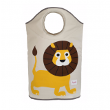 3 Sprouts – Lion Collapsible Laundry Hamper