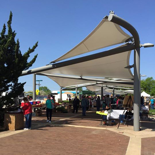 The Sails at the Farmers Market